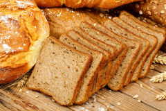 Toast bread Stock Photography
