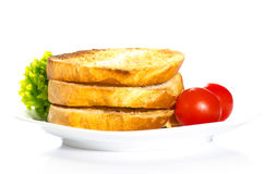 Toast for breakfast Royalty Free Stock Photography