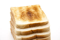 Toast brown baked Royalty Free Stock Image