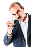 Toast with businessman Stock Images