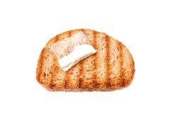 Toast with butter Royalty Free Stock Images