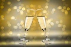 Toast Champagne Stockfotos