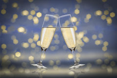 Toast champagne Royalty Free Stock Photography