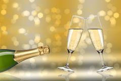 Toast champagne Royalty Free Stock Photo