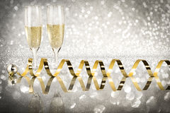 Toast champagne, new year Royalty Free Stock Photography