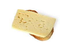Toast With Cheese Stock Image