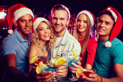 Toast for Christmas Royalty Free Stock Photography