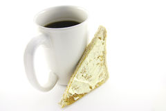 Toast and Coffee Royalty Free Stock Image