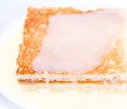 Toast And Condensed Milk IV Stock Photo