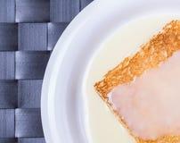 Toast And Condensed Milk IX Royalty Free Stock Image