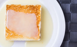 Toast And Condensed Milk VII Stock Image