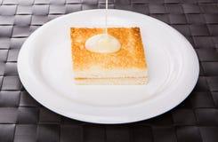 Toast And Condensed Milk VIII Stock Photos