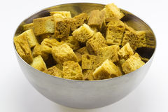Toast croutons Royalty Free Stock Image