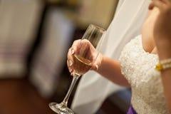 Toast an der Hochzeit Lizenzfreies Stockbild