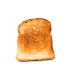 Toast des weißen Brotes stockfotos
