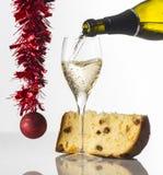 Toast für die Feiertage Stockbild