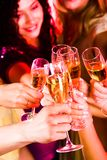Toast for friendship Stock Photography