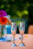 Toast Glasses At Wedding Reception Royalty Free Stock Photo