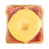 Toast hawaii Royalty Free Stock Image