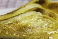 Toast with Honey Stock Photos
