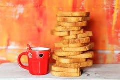 Toast & honey Stock Images