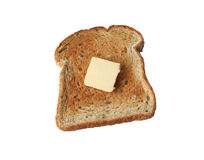 Toast isolated Stock Images