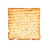 Toast isolated on white Stock Image