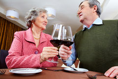 Toast for love Royalty Free Stock Photo