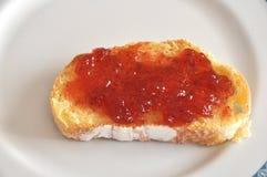 Toast mit Störung Lizenzfreie Stockbilder