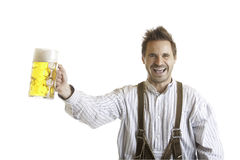 Toast with Oktoberfest beer stein (Mass) Royalty Free Stock Images