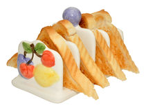 Toast Rack Filled With Toast Royalty Free Stock Photos