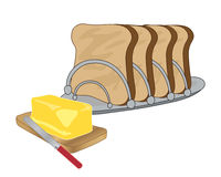 Toast rack Stock Photos