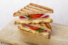 Toast sandwich grilled Royalty Free Stock Images