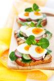 Toast sandwiches Stock Photos