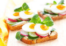 Toast sandwiches Royalty Free Stock Photography