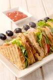 Toast sandwiches Royalty Free Stock Photo