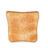 Toast slice on white background Stock Photos