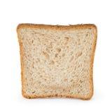 Toast slice on white background Royalty Free Stock Image