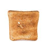 Toast slice on white background Stock Photography