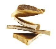 Toast slices Stock Photos
