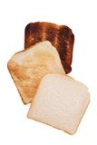 Toast slices Stock Photography