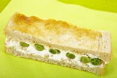 Toast snack Stock Photo