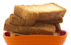 Toast snack Royalty Free Stock Photography