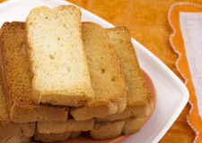 Toast snack Royalty Free Stock Photos