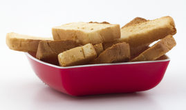 Toast snack Stock Photo