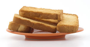Toast snack Stock Photography