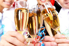 Toast for success Royalty Free Stock Images