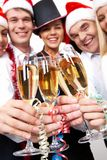 Toast for success Royalty Free Stock Photos