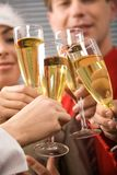 Toast for success Royalty Free Stock Photography