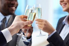 Toast for success Stock Images